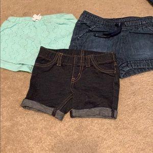 🌈4/$25🌈 Cat & Jack Shorts, Set of 3